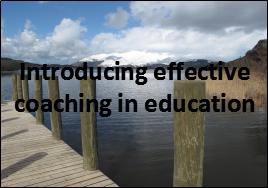 coaching in education introducing effective coaching in education